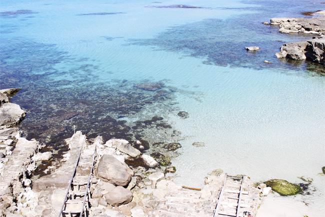 Las playas de Formentera bien merecen navegar 15 minutos de mala mar.