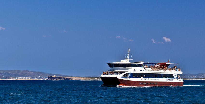 Nuestros barcos son la opción más cómoda y rápida de viajar a Formentera