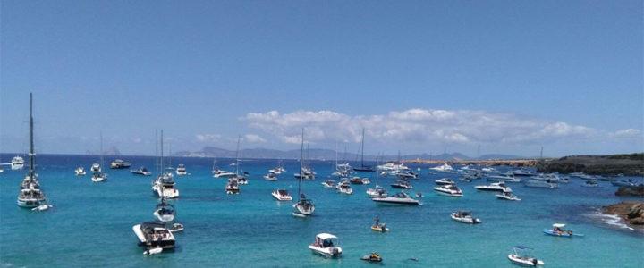 ¿Hay demasiados barcos en Formentera?