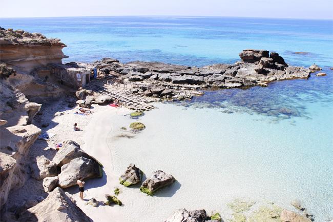 Es difícil no sentirse atraído por las aguas cristalinas de Formentera