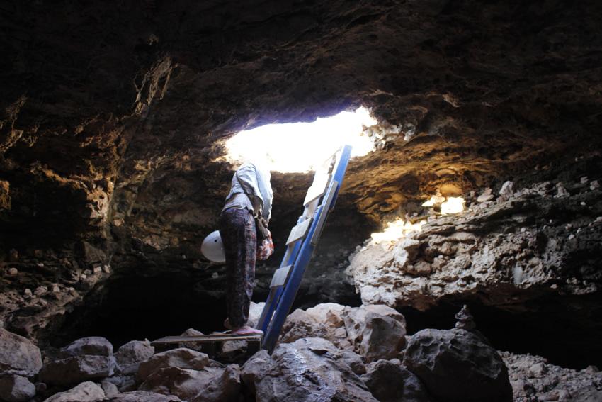 cova-foradada-formentera-acceso