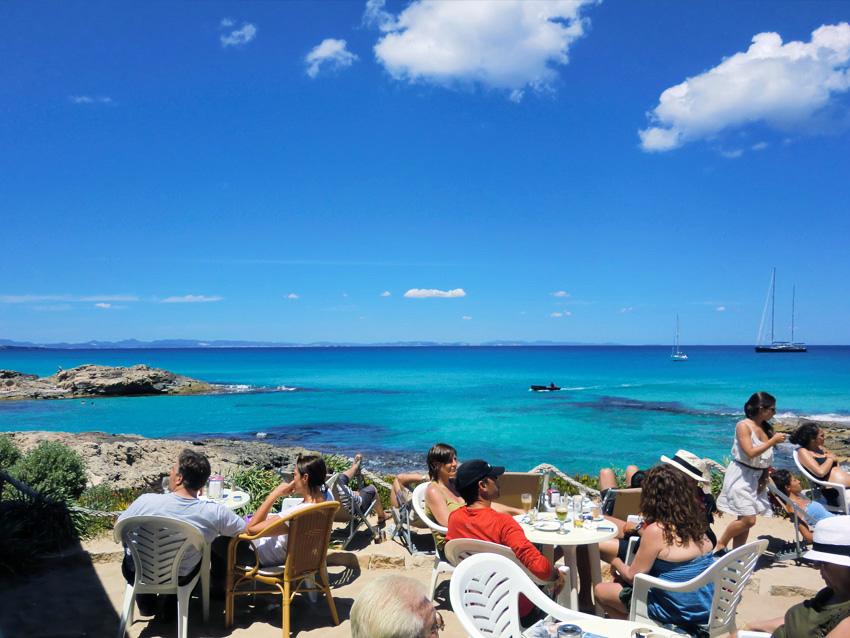 Un buen lugar para disfrutar de Formentera