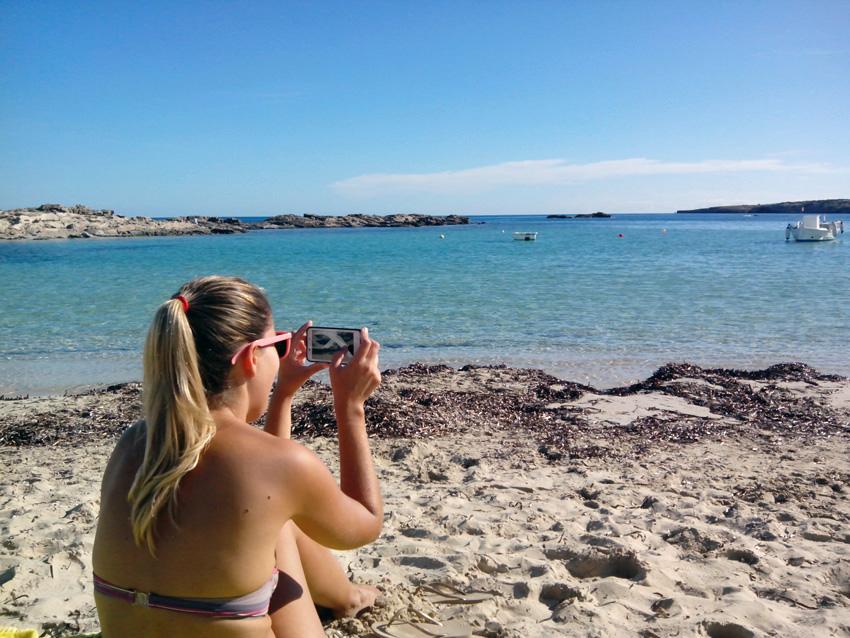 Formentera es tan bella que querrás fotografiarla entera.