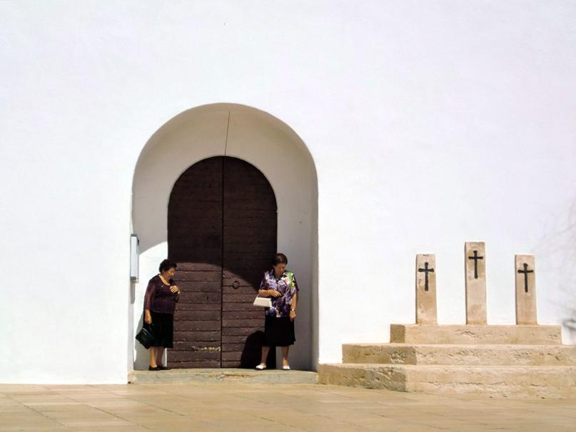 Cuando se juntan dos personas en Formentera se dice que hay una gran multitud.