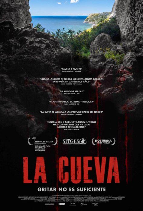 'La Cueva', una película de terror de Alfredo Montero