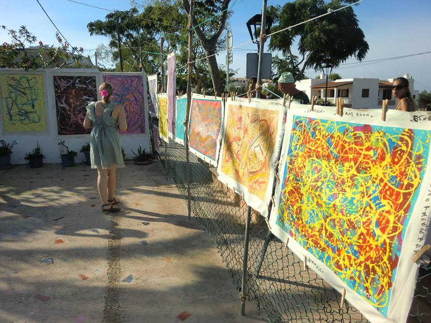 La Mola hippy market