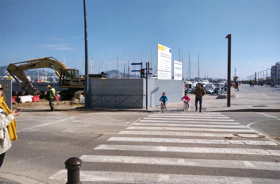 obras puerto ibiza