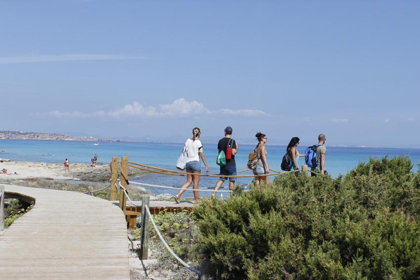 Formentera es un destino perfecto para ir con amigos
