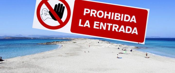 Formentera prohibirá la entrada a los murcianos